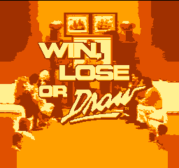 Win, Lose or Draw (USA) Title Screen